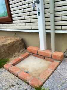 お庭の水道